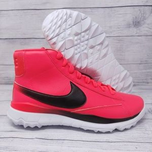 Womens Nike Blazer Spikeless Golf Shoes Pink 8.5